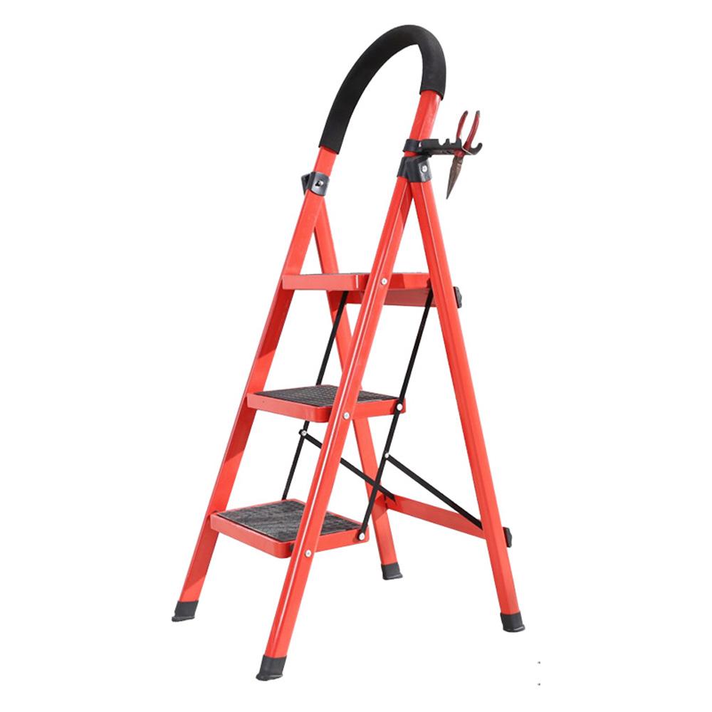 LOGIS邏爵 安全折疊梯/工具梯/家用梯/A字梯/防滑梯