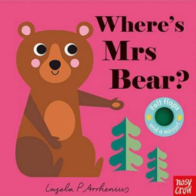 Where s Mrs Bear? 大熊在哪裡?不織布翻翻書