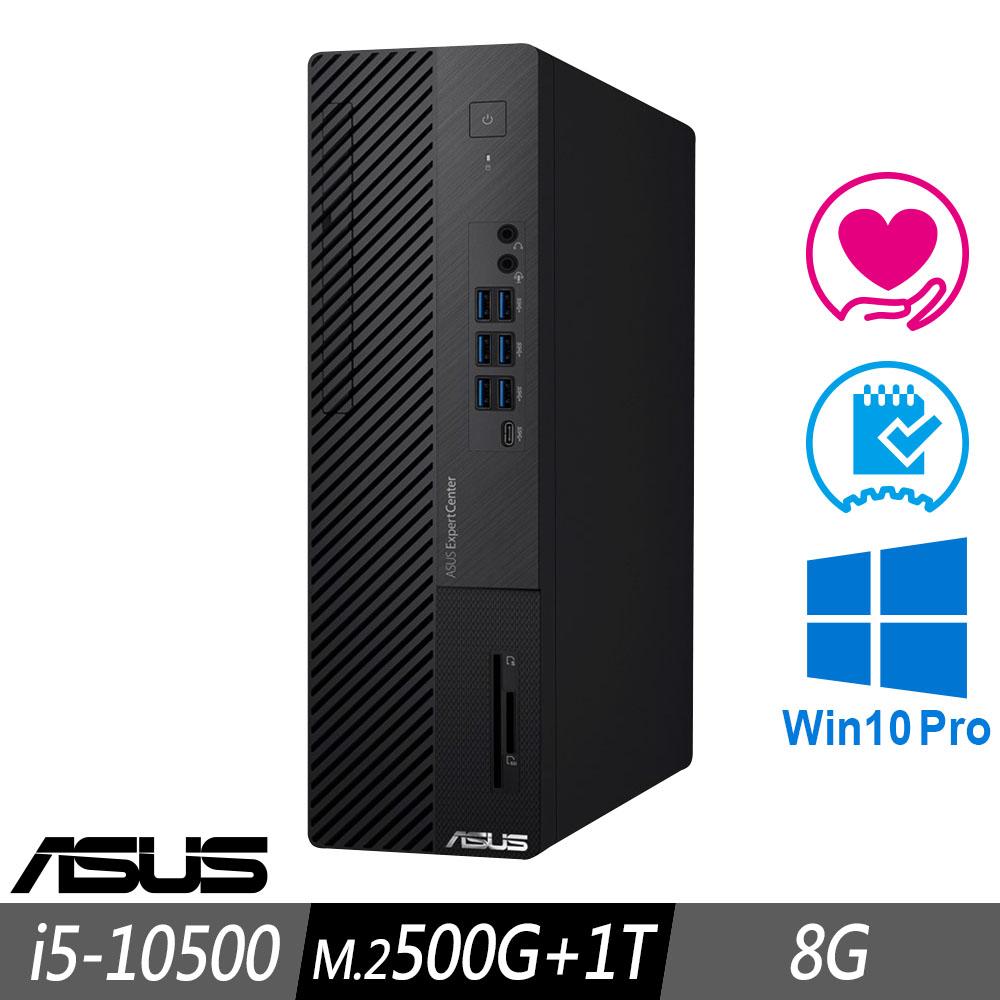 [超值加購] ASUS M700SA 薄型商用電腦 i5-10500/8G/M.2-500G+1TB/W10P