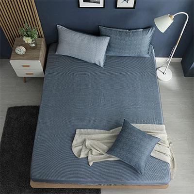 LASOL睡眠屋-100%奧地利天絲 加大床包枕套三件組230織 心情敘事