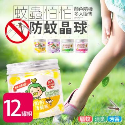 茶茶小王子蚊蟲怕怕清新瓶(150g*12罐)