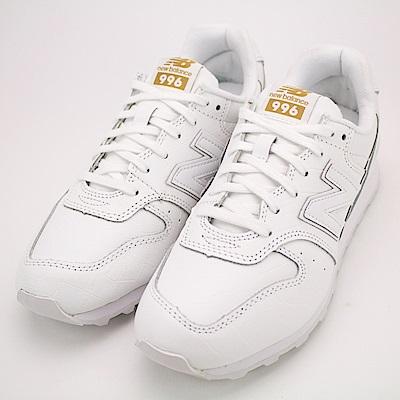 NEW BALANCE-女復古休閒鞋WR996CRW-D-白金