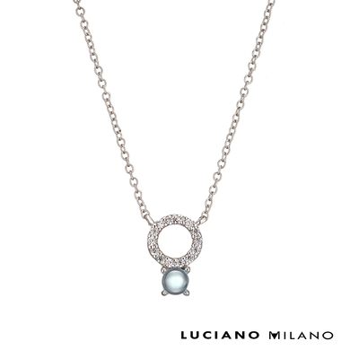 LUCIANO MILANO 淑女的氣質純銀項鍊(三色可選)