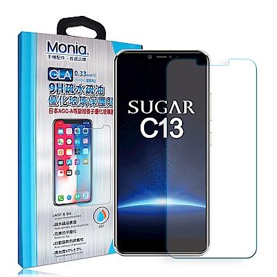 MONIA 糖果手機 SUGAR C13 日本頂級疏水疏油9H鋼化玻璃膜