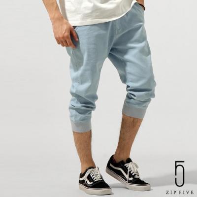 ZIP日本男裝 KANGOL聯名款七分縮口褲(8色)