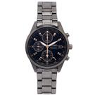 SEIKO 專屬女性時尚風計時手錶(SNDV57P1)-黑色面X黑色/36mm