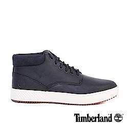 Timberland 男款黑色全粒面皮革 Cityroam?休閒鞋