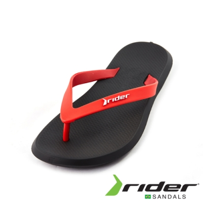 Rider 休閒舒適人字夾腳拖鞋(男款)-紅