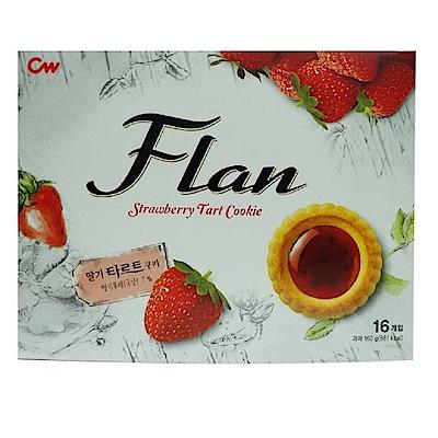 CW 果醬奶酥餅乾草莓風味(160g)
