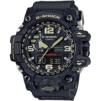 CASIO卡西歐G-SHOCK MASTER OF G極限腕錶(GWG-1000-1A)