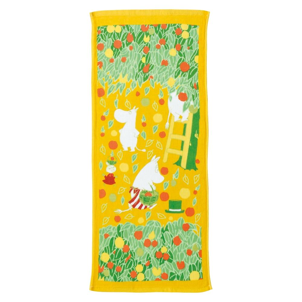 日本丸真 Moomin嚕嚕米 今治紗布毛巾- 秋季豐收