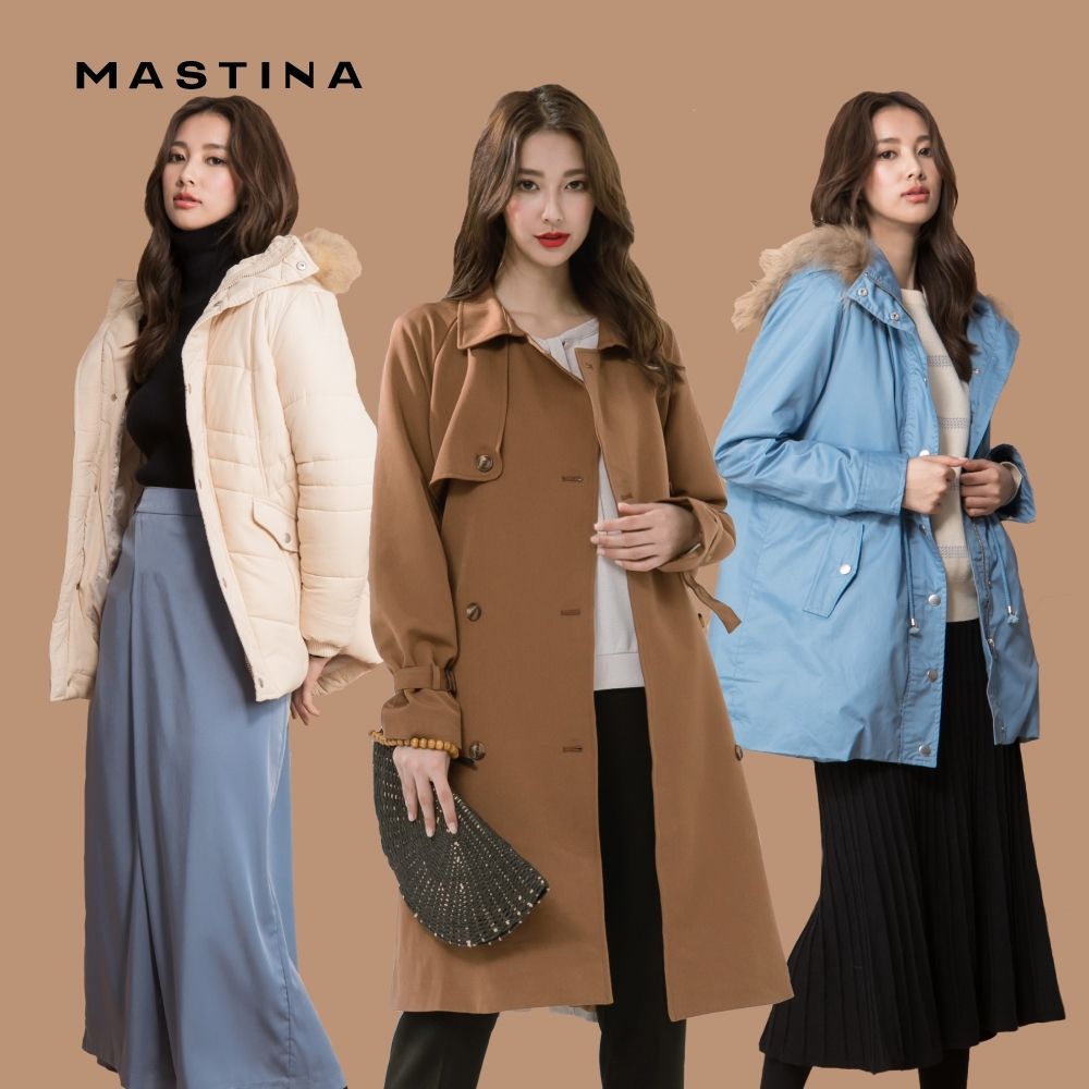 【MASTINA】簡約百搭修身-外套(A抽繩款/B經典款/C大衣款/D日系款)