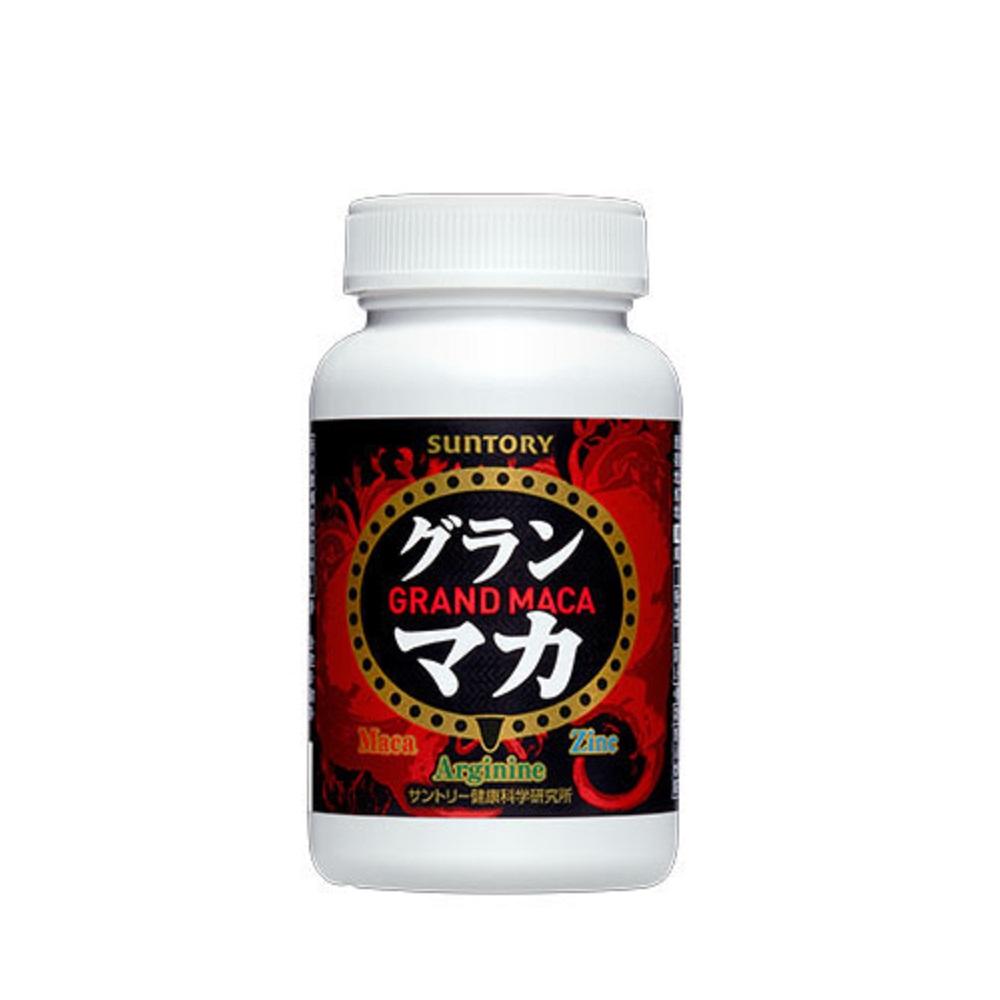 (加贈隨身包x1)SUNTORY三得利 御瑪卡【精胺酸+鋅】30日份(120顆