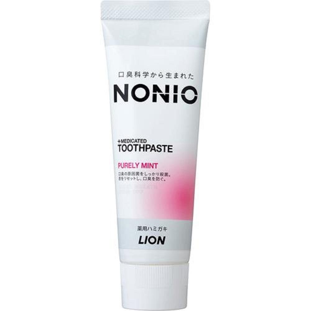 日本進口LION  NONIO 牙膏130g 清粉薄荷香