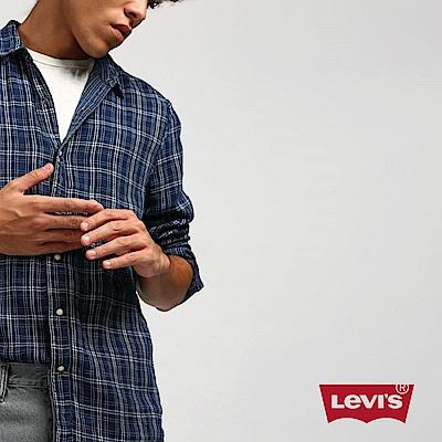 Levis 格紋襯衫 男裝 雙面穿