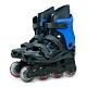 DLD多輪多 高塑鋼底座 專業直排輪 溜冰鞋 黑藍 530 附贈三角背包 product thumbnail 1