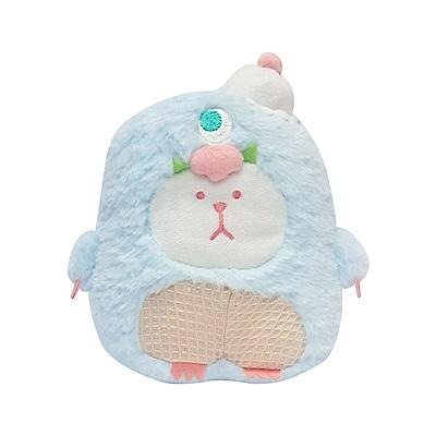 CRAFTHOLIC宇宙人 怪獸大眼熊造型抱枕