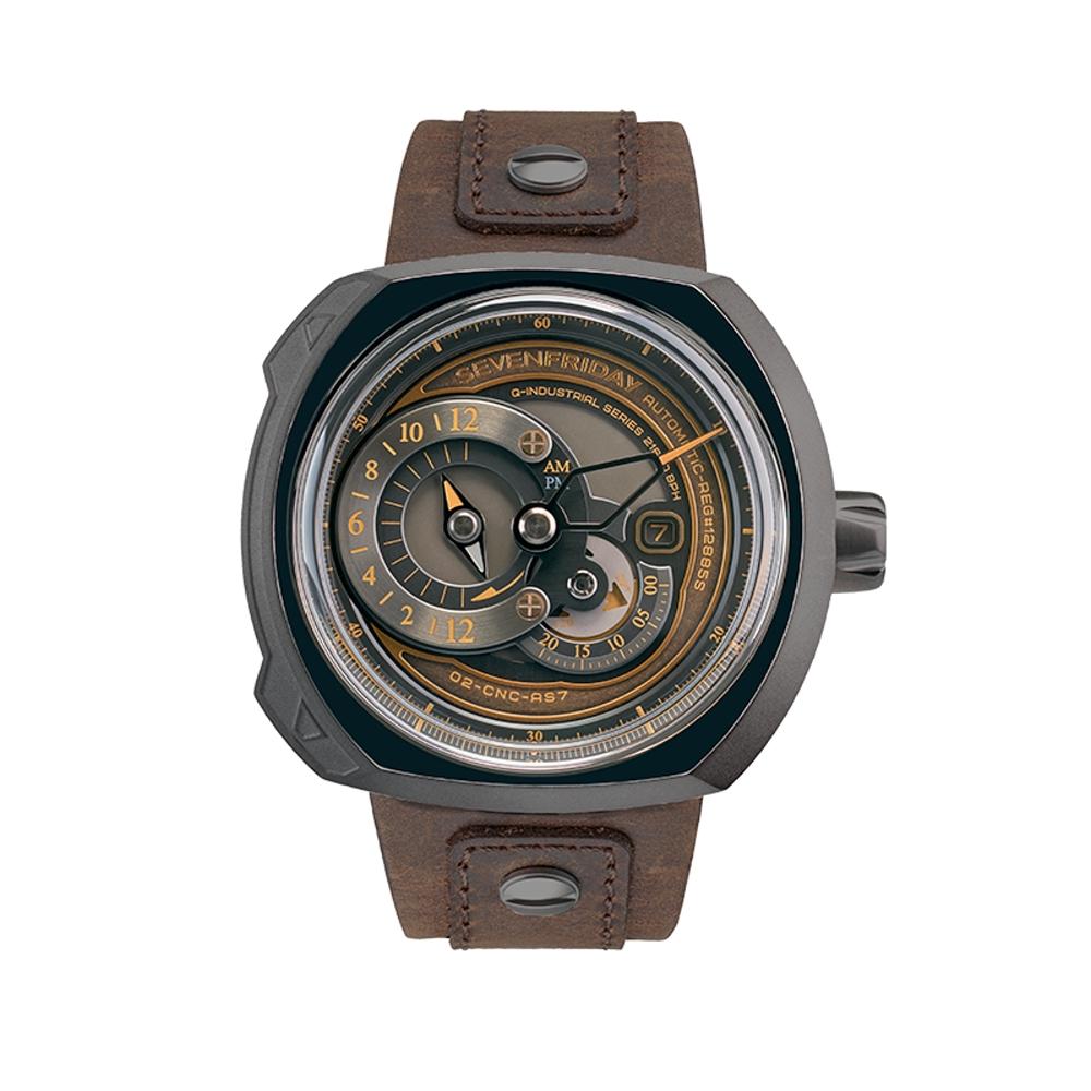 SEVENFRIDAY Q2-3 潮流新興瑞士機械腕錶