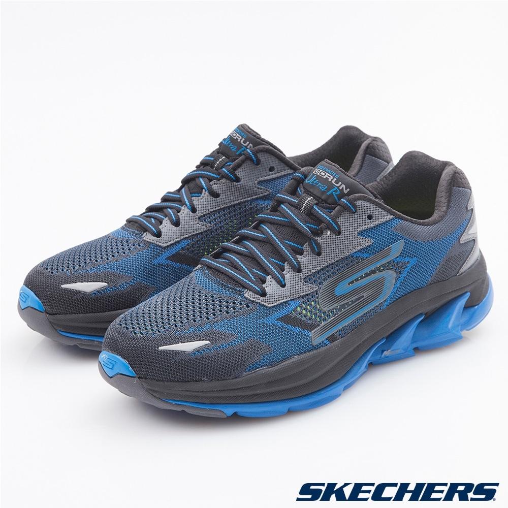 SKECHERS 男跑步系列 GORUN Ultra R - 54005BKBL