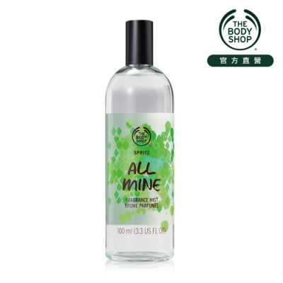 The Body Shop All Mine 果香木蘭花 爽身花露水-100ML