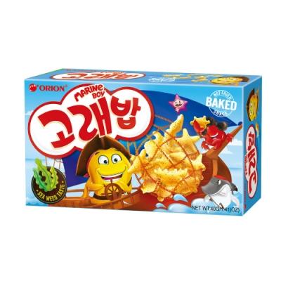 好麗友 海洋動物造型餅-海苔味(40g)