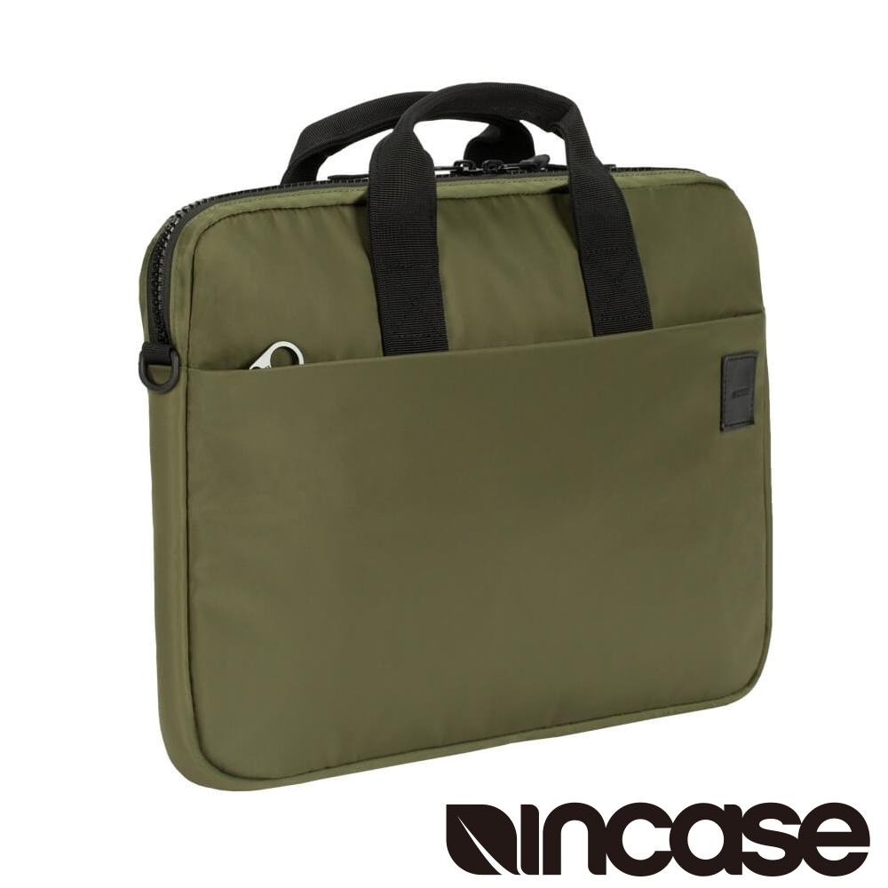 INCASE Compass Brief 15吋 飛行尼龍手提 /肩背筆電公事包 (軍綠)
