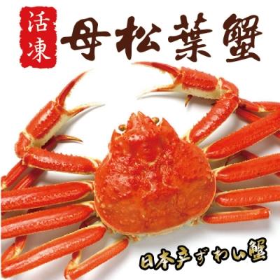 日本活凍母松葉蟹2隻