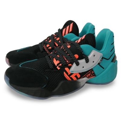 adidas 籃球鞋 運動 哈登 NBA球星 高抓地力  男鞋 黑 綠 EH1999 Harden Vol. 4