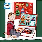 西班牙JoanMiroJoanMiro 磁性聖誕裝扮趣味遊戲盒