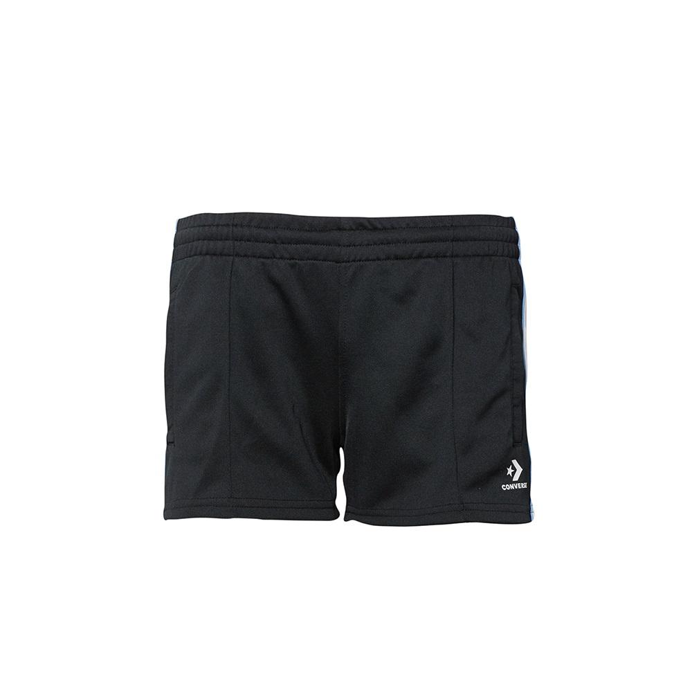 CONVERSE-女休閒短褲-黑-10007126-A01