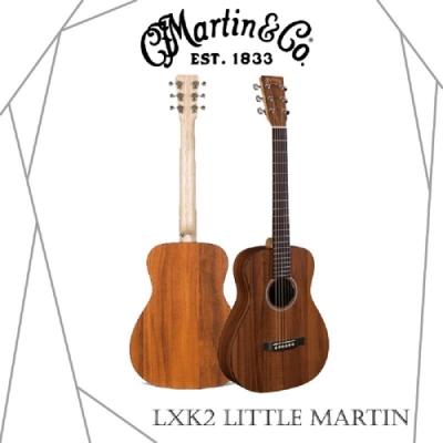 Martin LXK2木吉他/全相思木/旅行吉他/贈超值配件包