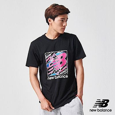 New Balance 短袖T恤_AMT91550BK_男性_黑色