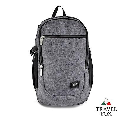 TRAVEL FOX 旅狐包 - 優料 卓越休閒防潑水商務型後背包 - 自信灰