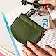 KINAZ 真皮彈簧萬用鑰匙零錢包-芥藍綠元素-小物魔法系列 product thumbnail 1