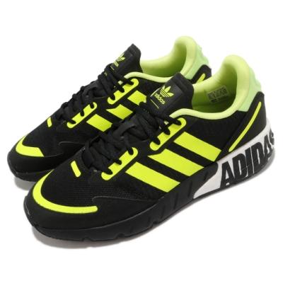 adidas 休閒鞋 ZX 1K Boost 運動 男鞋 愛迪達 舒適 避震 簡約 球鞋 穿搭 黑 黃 FY3632