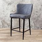 Boden-迪洛工業風吧台椅/吧檯椅/高腳椅-49x58x88cm