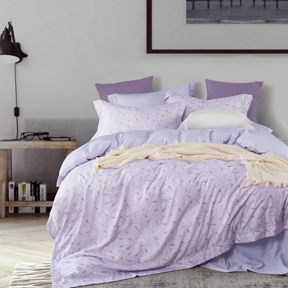 BEDDING-3M專利+頂級天絲-6X7尺特大薄床包三件組-花漫