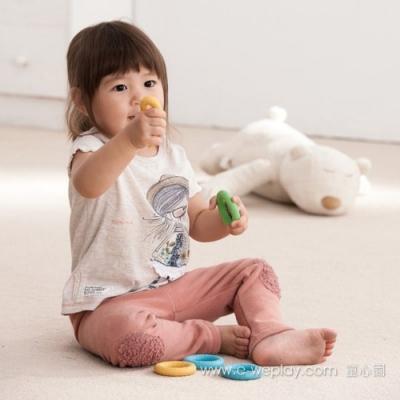 Weplay身體潛能開發系列【感官知覺】ㄚㄚ圈6入組x2 ATG-KT3002-006x2
