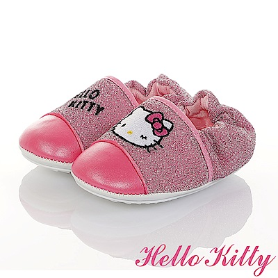 HelloKitty 金蔥輕量柔軟減壓寶寶學步童鞋-桃