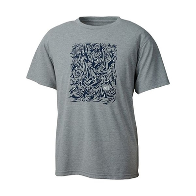 MILLET 男 MOUNT RANGE 短袖排汗衣 麻灰色-MIV018544809