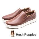 Hush Puppies 牛皮舒適工作鞋休閒鞋 男鞋- 棕(另有深藍)