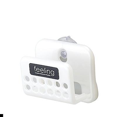 日本 INOMATA  吸盤式 多功能 小型置物架 海綿支架