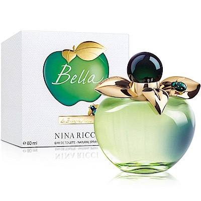 Nina Ricci Bella貝拉甜心女性淡香水80ml-送品牌小香