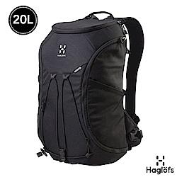 Haglofs Corker Large 20L 防潑水筆電後背包 黑
