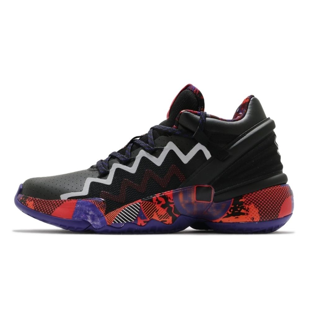 ADIDAS D.O.N. Issue 2 GCA 男籃球鞋-黑-G55791