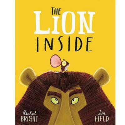 The Lion Inside 小老鼠大獅子平裝繪本