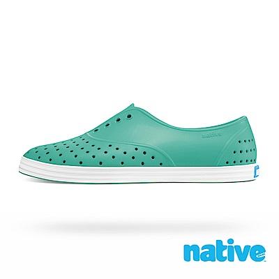 native JERICHO 女鞋-湖水綠x貝殼白