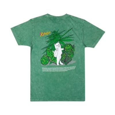 RIPNDIP PURPLE HAZE TEE 中指貓 短袖T恤