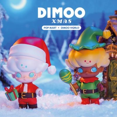 DIMOO 驚喜聖誕節系列盒玩公仔(12入盒裝)