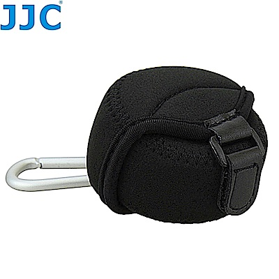 JJC小號鏡頭袋JN-S(潛水布材質,附金屬掛勾環,適鏡頭直徑62x40mm)